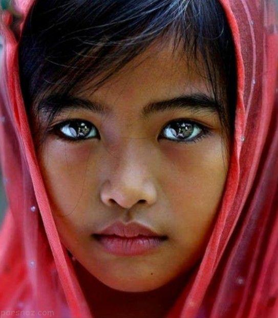 عکس هایی از چشمان خیره کننده در جهان