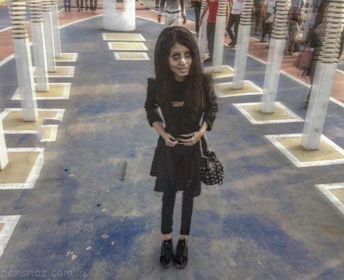 دختر زیبای ایرانی مشهور به عروس مردگان در اینستاگرام