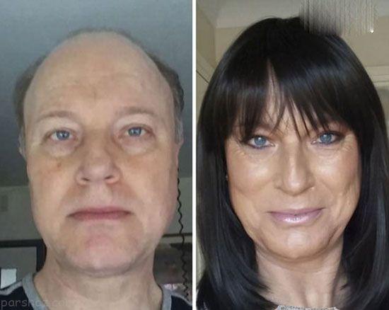 تغییر چهره باورنکردنی این افراد پس از تغییر جنسیت