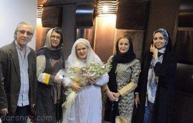 حضور جنجالی آزاده نامداری در عروسی بهاره رهنما