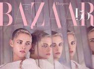 عکس های کریستین استوارت بازیگر مشهور روی مجله مد بازار