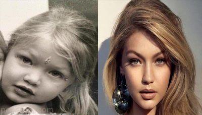 ستاره های مشهور و جذاب جهان در دوران کودکی