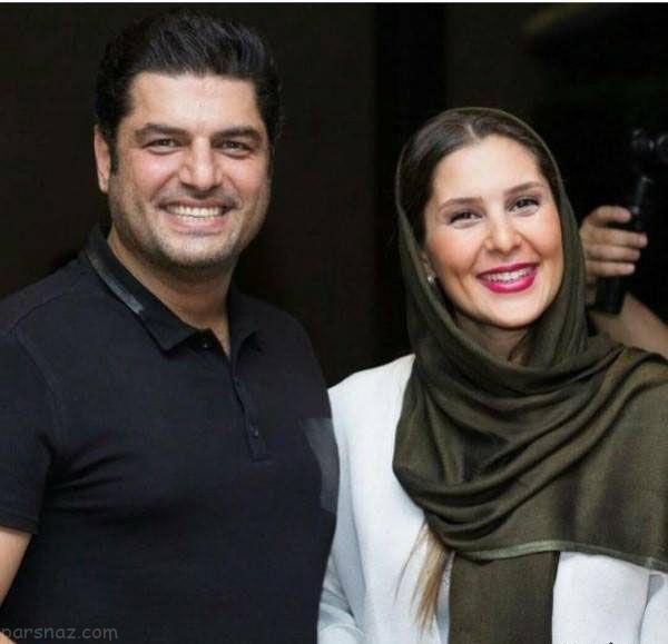 تصاویر بازیگران و ستاره ها در کنار همسران (جدید)