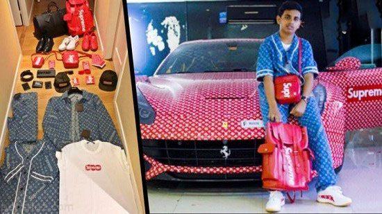 زندگی فوق لوکس پسر 15 ساله عرب اماراتی