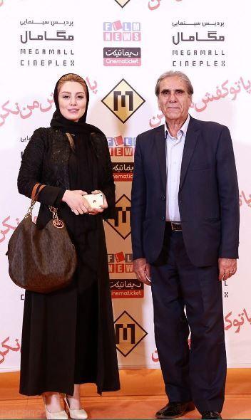 ستاره های ایرانی در اکران فیلم پا تو کفش من نکن