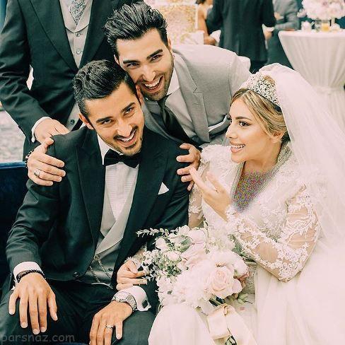 عکس جدید لو رفته از عروسی رضا قوچان نژاد