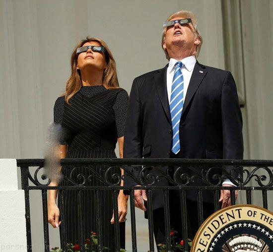 سوژه شدن ترامپ و خانواده اش در کاخ سفید
