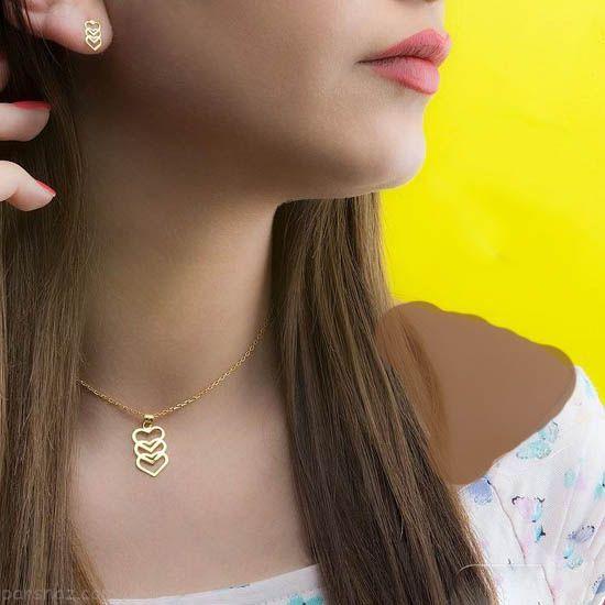 مدل های شیک طلا جواهرات ایرانی برند خورشید