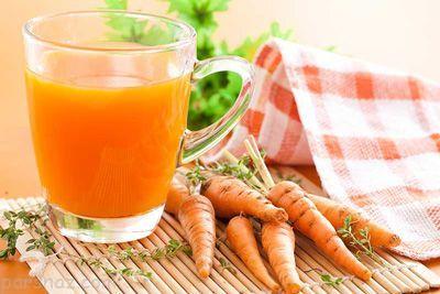فواید مصرف یک لیوان آب هویج در طول شبانه روز
