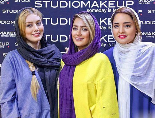 بازیگران ایرانی در نمایشگاه زیبایی برج میلاد