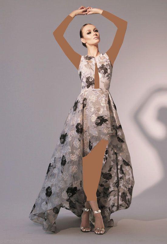 مدل لباس مجلسی شیک و جذاب برند Nicole Bakti