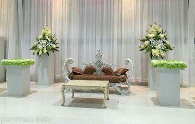بهترین ایده های تزیین جایگاه عروس و داماد