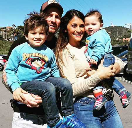 همسر لیونل مسی برای سومین بار باردار شد +عکس