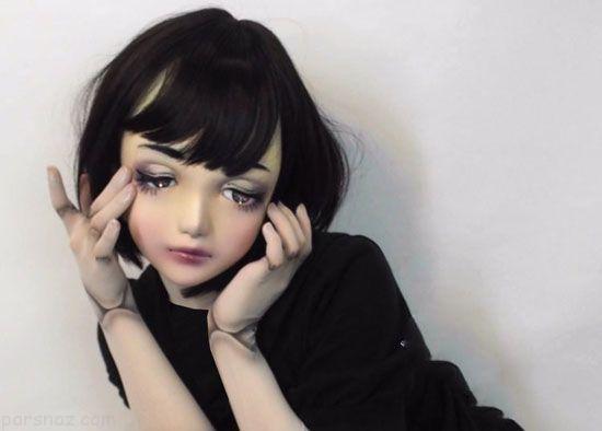 دختر عروسکی جذاب ژاپنی و حرفه مدلینگ
