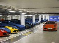 این مخفیگاه پر از خودروهای لوکس میلیاردی است
