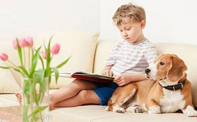کودکان و فواید حیوانات خانگی برای آن ها