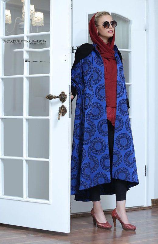 جدیدترین مدل های مانتو ایرانی در رنگ های مختلف