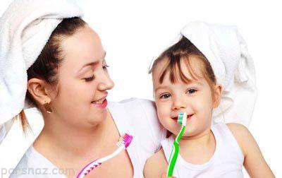 کودکان باید از چه زمانی مسواک بزنند؟