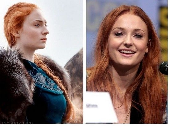 چهره واقعی بازیگران سریال Game of Thrones