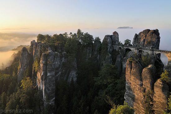 جالب ترین مرزها بین کشورهای جهان +عکس
