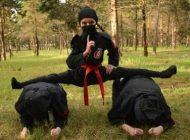 حرکات حیرت انگیز دختران نینجای ایرانی +عکس