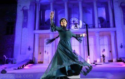 گریم های عجیب بازیگران ایرانی در نمایش سی