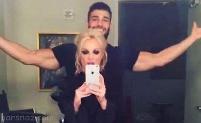 تصاویر بدون آرایش بریتنی اسپیرز و دوست پسر ایرانی اش