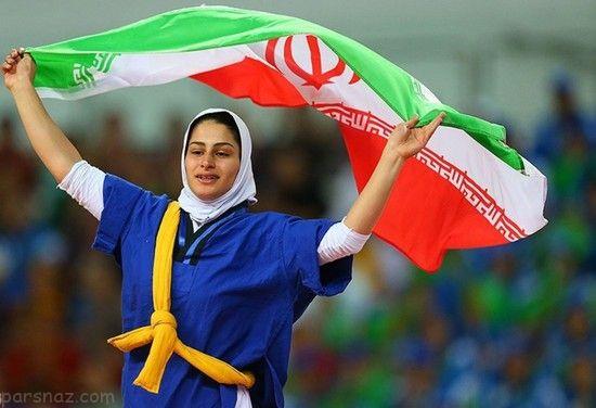 دختران ایرانی در مسابقات کشتی قهرمانی بانوان
