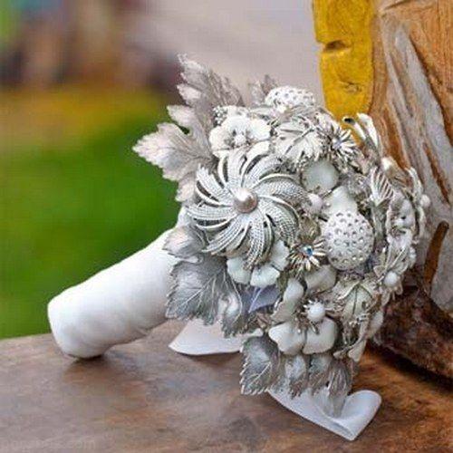 مدل مصنوعی دسته گل عروس سری (1)