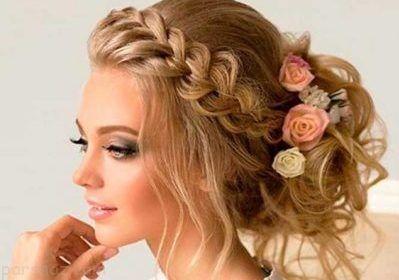 مدل های جدید آرایش عروس زیبا و شیک 2019