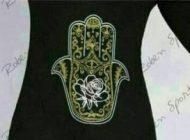 نماد شیطان روی لباس های سیاه محرم