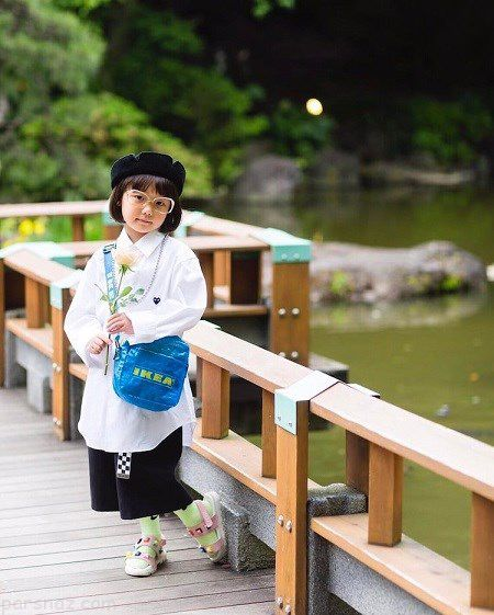این دختر ژاپنی الهه مد در اینستاگرام شده است