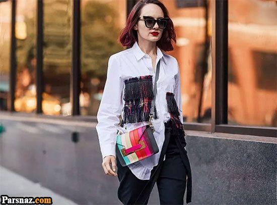 بهترین مدل های لباس زنانه در هفته مد نیویورک