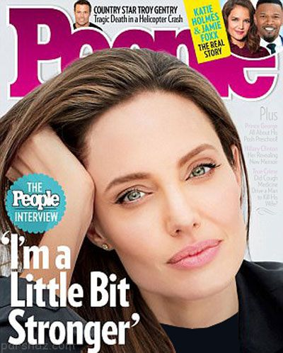 نخستین گفتگوی پسر آنجلینا جولی با مجله پیپل