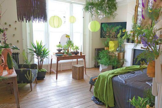 بهترین دکوراسیون اتاق خواب با الهام از طبیعت