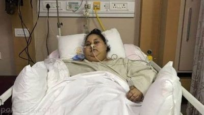 چاق ترین و سنگین ترین زن دنیا درگذشت