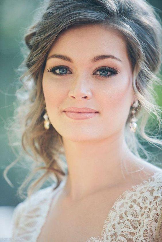 مدل های جدید آرایش عروس زیبا و شیک 2017