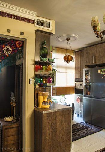 بهترین مدل های دکوراسیون آشپزخانه های کوچک