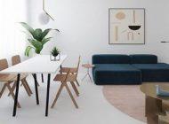 مدل های طراحی داخلی آپارتمان رنگ مشکی و سفید