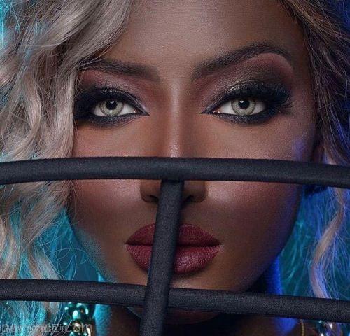 این دختر سیاه پوست زیباترین مدلینگ دنیا است