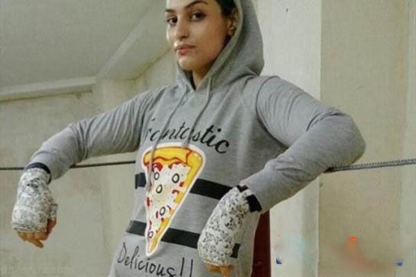 همراه با صدف خادم دختر قهرمان بوکس ایران