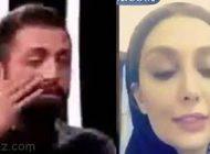 واکنش جالب همسر محسن افشانی به گریه های همسرش
