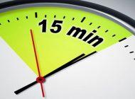 15 دقیقه سرنوشت ساز برای کارآفرین ها