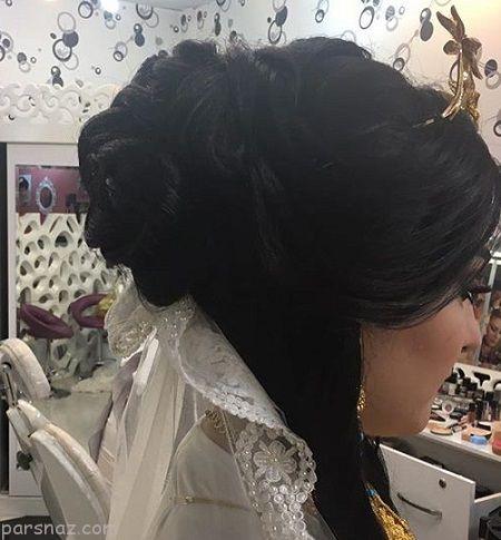 مدل شینیون 2018 موی عروس ایرانی (27 عکس)
