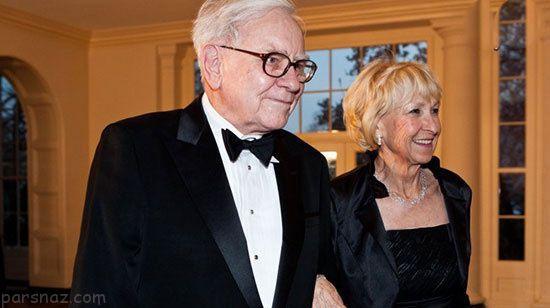 پولدارترین مردان جهان و همسران زیبایشان