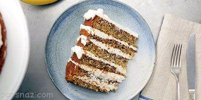 آموزش تهیه کیک موزی خوشمزه و خامه پنیری