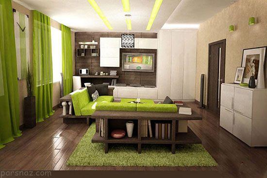 لوکس ترین دکوراسیون آپارتمان با استفاده از رنگ بژ