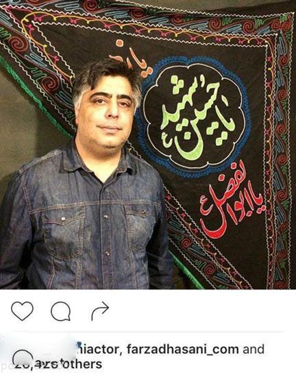 بازیگران و ستاره های ایرانی در مراسم عزای حسینی