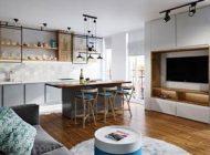 دکوراسیون و طراحی داخلی این آپارتمان زیبا