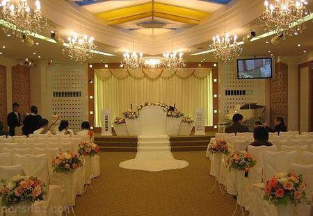 عکس های جایگاه عروس و داماد و مدل تزیینات